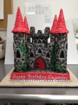 Medieval Castle Cake by The-EvIl-Plankton
