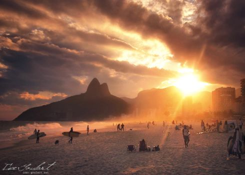 Relaxing in Rio II by IsacGoulart