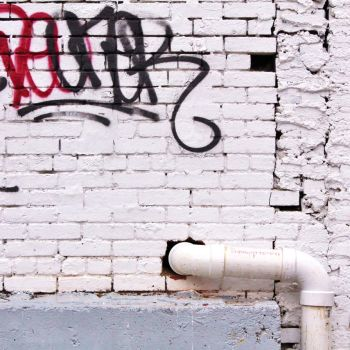 Graffiti with pipe square by JJPoatree