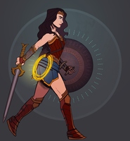 Wonder Woman by Gwendolynn13