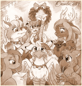 Antler Party 2017 by foxxy-arts