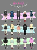 (CLOSED) Casual Outfit Adopts 02 by Rosariy