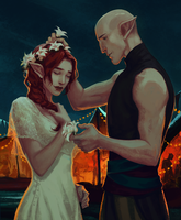 Anise and Solas by nipuni