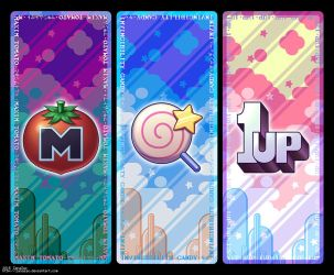 Kirby Bookmark Set by zanazac