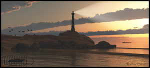 Cape Sunset by jbjdesigns