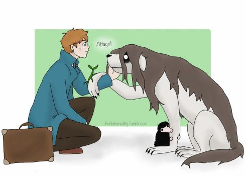 Newt and Nina by Kaylee-Michele