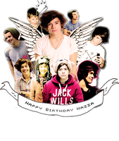 Happy Birthday Hazza{ID} by xIWannaFeelTheSkyx