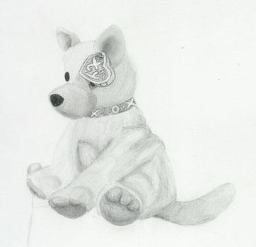 Unfinished Beanie Baby by nemisiscat