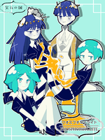Houseki no Kuni PHOSPHOPHYLLITE by Mirror007