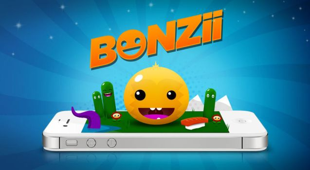 Bonzii iOS game by 1saint