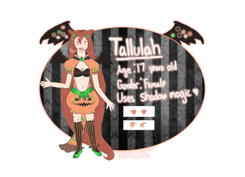 {REQUEST} Tallulah Reference Sheet by Intergrated
