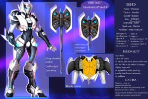 Whiteout Ref Sheet by VendettaPrimus