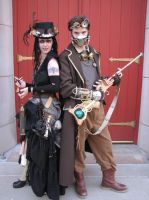 Halloween Steampunk 2010 by obi-wan8403