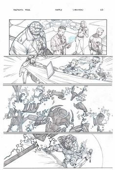 Fantastic Four sample page 2 by druje