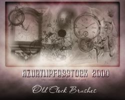 Old clock brushes by AzurylipfesStock