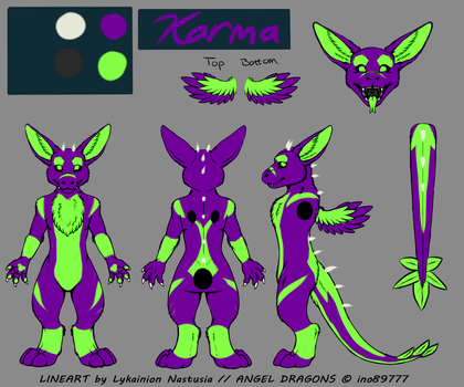 Karma Reference Sheet 2 by Elko-K