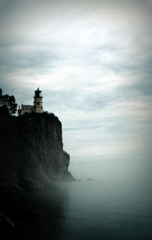 Slpit Rock Lighthouse by AmeliaearhART