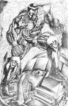 Colossus by vanchoran