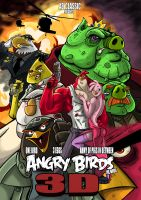 Angry Birds movie poster -unofficial by GravedFish