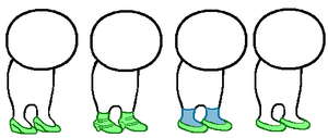 Sprite Shoe Bases by AngelAwakened