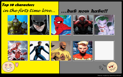 Characters i used to like but now hate by antivenom907