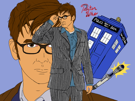 Dr. Who by MsSleepyCat