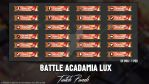 Battle Acadamia Lux - Twitch Panels by LoL-Overlay