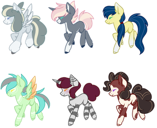 Closed MLP Adopts by SpaazleDazzle