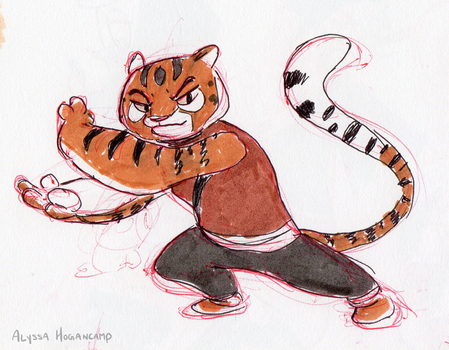 Tigress again by little-ampharos