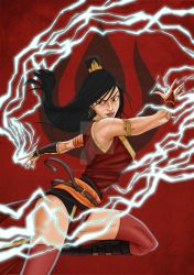 Adult Azula from Avatar by HuseyinSekerciler