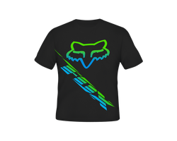 Fox Racing Head T-Shirt by specialized666