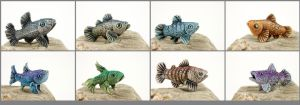 Little fishes by hontor