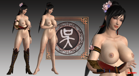 Lianshi (DW9) Nude Mod For XPS by cunihinx