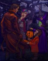 Trick-or-Treating by philotic-net