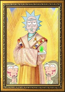 Praise Be To Rick by western-philosopher