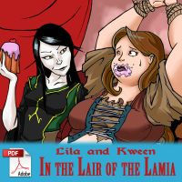 In the Lair of the Lamia by x-22