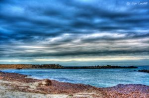 Winter Beach by Brompled