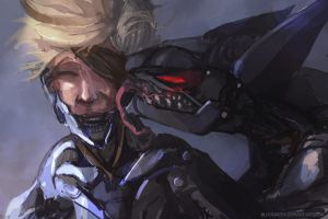 I'm My Own Master Now ( Raiden and Blade Wolf ) by bloodrizer
