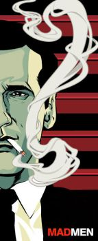 Don Draper: Mad Men by Jack-C-Gregory