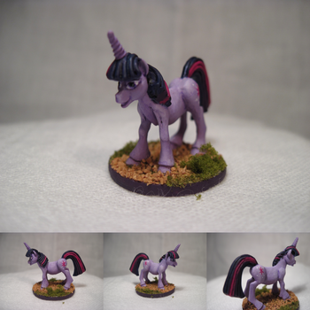 Table-Top Mini: Twilight Sparkle by NPCtendo