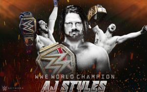 AJ Styles Wallpaper 2018 by SidCena555