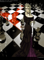 checkmate to the queen by FiammahGrace
