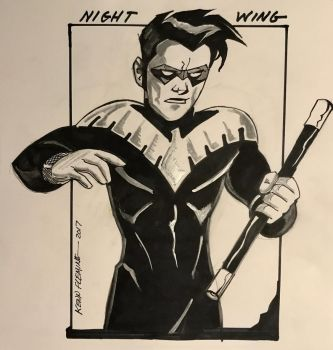 Nightwing by kennf11