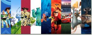 Pixar Collection Wallpaper by SacrificialS