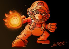 Fire Mario by JFRteam