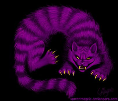 Cheshire Cat by LaurenMagpie