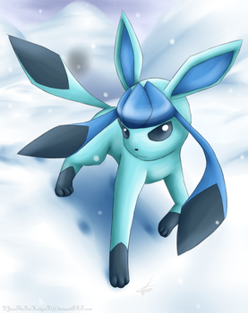 Glaceon :: by Nero-Blackwing