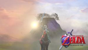 The Legend of Zelda: Ocarina of Time by Trycon1980
