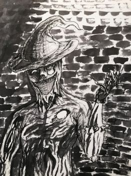 Scarecrow  by calebconver