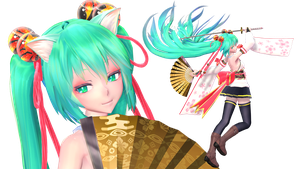 TDA Miku Blooming Flower Ver1.4 DL Models by HestiaSama